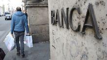 Stresstest der Bankenaufsicht: Italiens Geldinstitute müssen zittern