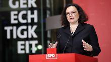 Trotz Wahlschlappe in Hessen: SPD will an Spitzenpersonal festhalten