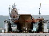 "Moskaus einziger Flugzeugträger: ""Admiral Kusnezow"" entgeht dem Untergang"