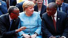 """Gewinnbringende Nachbarschaft"": Merkel stellt Afrika-Fonds in Aussicht"