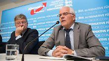 """Umgang mit extremen Ansichten: AfD-Mitglieder streiten über """"Denkverbote"""""""