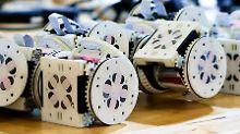 """Wie bei """"Transformers"""": Roboter kann seine Form verändern"""