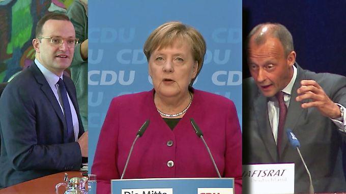 Profilschärfen für Merkel-Nachfolge: Spahn schimpft über Flüchtlingspolitik