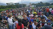 Rasanter Anstieg 2018: Millionen Menschen fliehen aus Venezuela