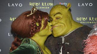 Grüner Grusel mit verdächtigem Detail: Kriegen Heidi Klum und Tom Kaulitz bald kleine Oger?