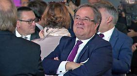 Spahn und Merz offensiv, AKK leise: Laschet warnt vor Rechtsruck im CDU-Nachfolgekampf