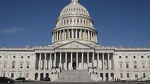 Beide Kammern des Kongresses haben ihren Sitz im Kapitol in Washington.