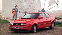 Der VW Corrado wurde  zum bezahlbaren Porsche-Jäger.