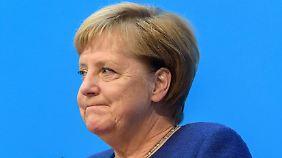 """""""Kann auch mit Merz gut arbeiten"""": Merkel steht zum Koalitionsvertrag"""