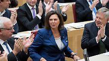 """""""Klares Nein zu Extremismus"""": Aigner ist bayerische Landtagspräsidentin"""