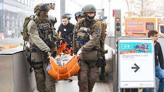 Gespenstische Szenen in der Hansestadt: Hamburg probt den Terror-Ernstfall