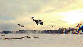 Mittendrin im Nato-Megamanöver: Bundeswehr führt und glänzt im eisigen Norwegen