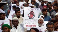 Dem Todesurteil entkommen: Christin in Pakistan aus Gefängnis entlassen