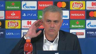 Zoff mit Reporterin: Mourinho provoziert nach provokanter Geste weiter