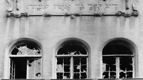 """80 Jahre """"Reichskristallnacht"""": Als der Holocaust begann"""