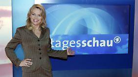 """Lang ist es her: Eva Herman bei der """"Tagesschau""""."""