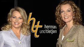 """Mit Bettina Tietjan moderierte sie einst auch die Talkshow """"Herman und Tietjen""""."""