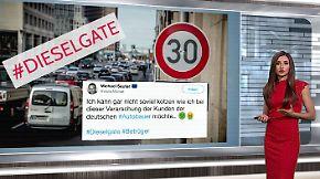 """n-tv Netzreporterin: """"Fauler Kompromiss"""" im #Dieselgate sorgt für Stunk"""