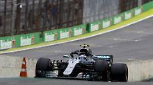 F1-Machtzeichen in São Paulo: Mercedes fährt sich für den Team-Titel warm