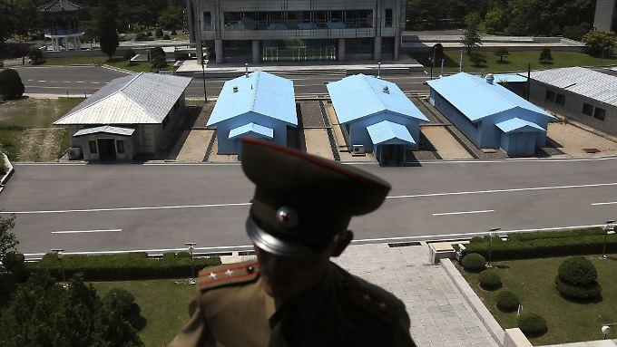 Im September haben sich Seoul und Pjöngjang auf Auflösung von zunächst elf Grenzkontrollposten geeinigt.