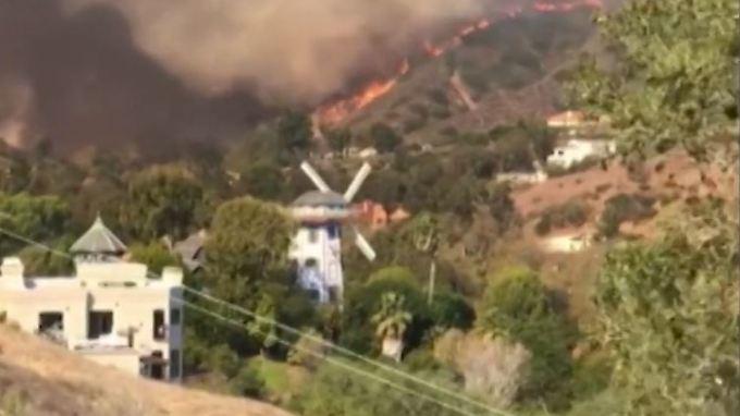 Feuersbrunst in kalifornien gottschalk trauert um for Haus gottschalk