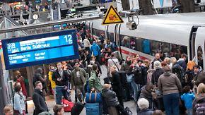 Bis zu fünf Milliarden Euro: Bahn will mit Steuergeldern pünktlicher werden
