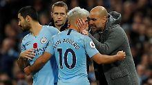 Klopp lobte seine Liverpooler: Guardiolas City gewinnt Manchester-Derby
