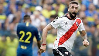 """Spektakel im """"Superclásico"""": River Plate erkämpft Remis in der Hölle von """"La Bombonera"""""""