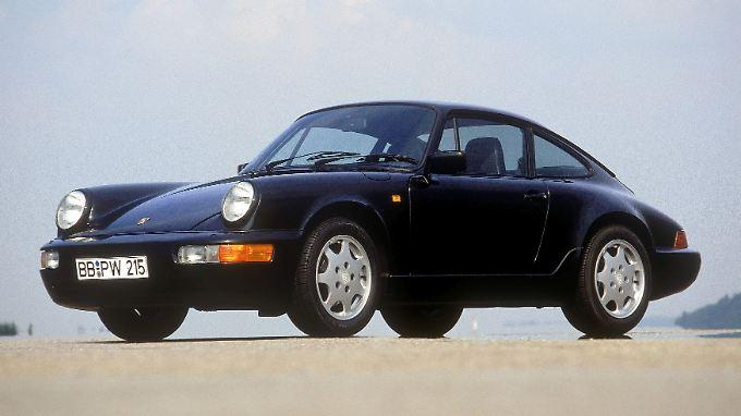 Der 1988 vorgestellte Porsche 911 (Typ 964) glich nur noch im Design dem klassischen Vorbild.