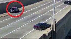 Kaum zu glauben, aber wahr: Polizist bringt mutmaßlichen Mörder brachial zur Strecke