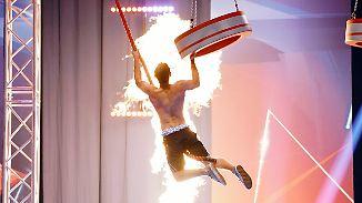 """""""Ninja Warrior Germany"""" - Finale: Ein Wurm schlängelt sich nach oben"""
