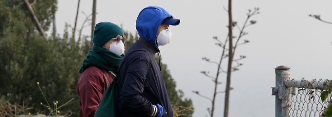 Höchste Warnstufe ausgerufen: San Francisco erstickt im giftigen Rauch