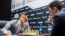 Halbzeit bei Schach-WM: Caruana erzwingt erneut ein Remis