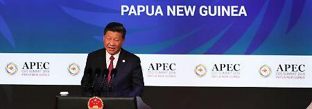 Hitzige Debatte auf Apec-Gipfel: USA und China gehen aufeinander los