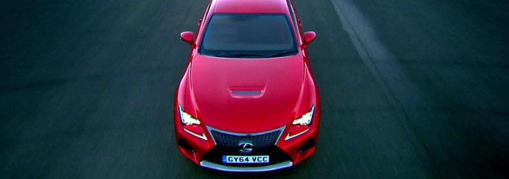 Top Gear: Lexus RC F