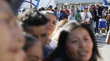 Flüchtlinge aus Mittelamerika: Tijuana erwartet Migranten-Karawane
