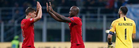 Gruppensieg in Nations League: Portugal feiert den sicheren Finaleinzug