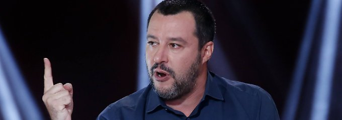 Vize-Ministerpräsident Matteo Salvini