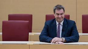 Einziger Kandidat für Seehofer-Nachfolge: Söder will neuer CSU-Chef werden
