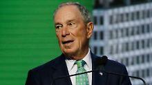 Aus Dankbarkeit an alte Uni: Bloomberg spendet 1,8 Milliarden Euro