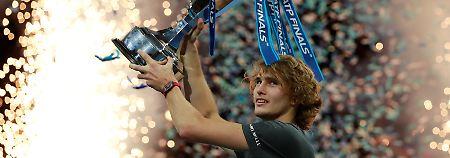 Tennis-Euphorie auch dank Kerber: Zverev krönt deutsches Sensationsjahr