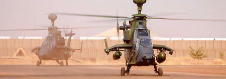 """Nach tödlichem Unglück in Mali: Wartungsfehler brachte """"Tiger"""" zum Absturz"""