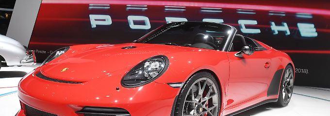 Glänzende Gewinne im Autobau: Porsche-Holding verdient Milliarden