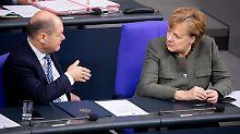 """Bundeshaushalt mit roter Null"": Opposition attackiert Scholz' Haushaltspläne"