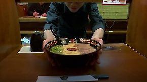 Suppe in der Einzelkabine: Solo-Restaurant bietet Ruhe beim Essen