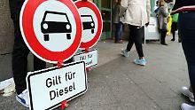 Diesel-Fahrverbote durchsetzen: Sind Kamera-Kontrollen verhältnismäßig?