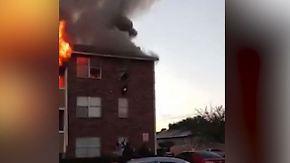 Dramatische Rettung in Dallas: Mann fängt fallendes Baby bei Wohnungsbrand auf