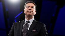 Ex-FBI-Direktor soll aussagen: Kongress bestellt Trump-Kritiker Comey ein