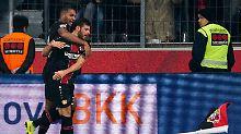 Stuttgart weiter in der Krise: Volland bringt Leverkusen wieder in die Spur