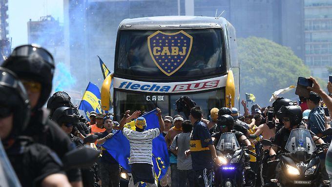 Boca will den Sportgerichthof einschalten und für ein juristisches Nachspiel sorgen.